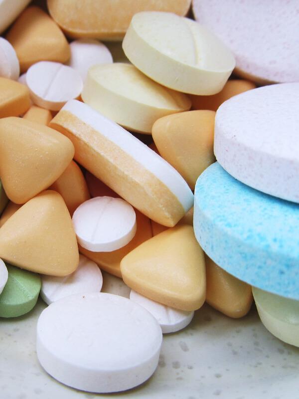 Foto van farmaceutische pillen
